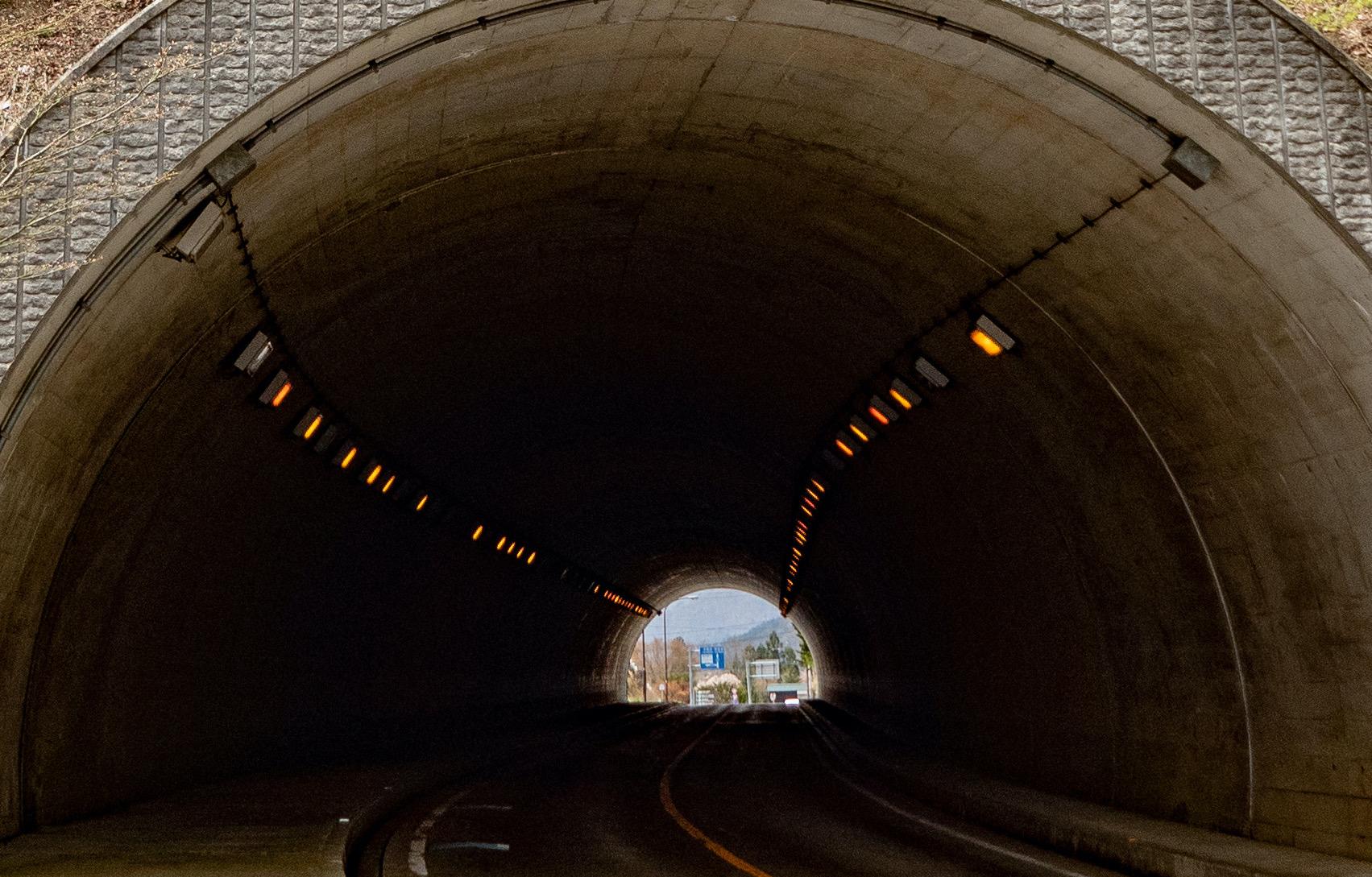 中部横断道城山トンネル工事
